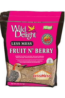 Less Mess® Fruit N' Berry Wild Bird Food 5 lbs.