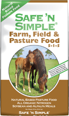 SAFE-N-SIMPLE FIELD AND PASTURE FERTILIZER 50 LBS.