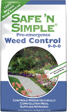 SAFE-N-SIMPLE WEED CONTROL, 25 OR 50 LB.