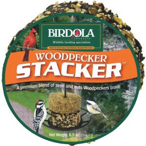 Woodpecker Stacker Bird Seed Cake