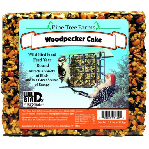 Woodpecker Seed Cake Bird Food 2.5 lb.