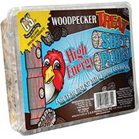 Woodpecker Treat Suet Plug - 12 oz