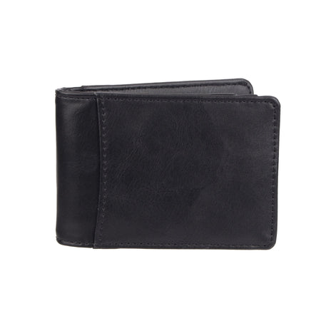 RFID Stretch Slim Front Pocket Wallet With Money Clip