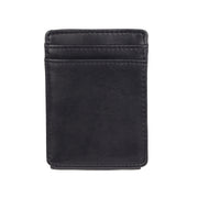 RFID Stretch Slim Front Pocket Wallet With Magnetic Money Clip
