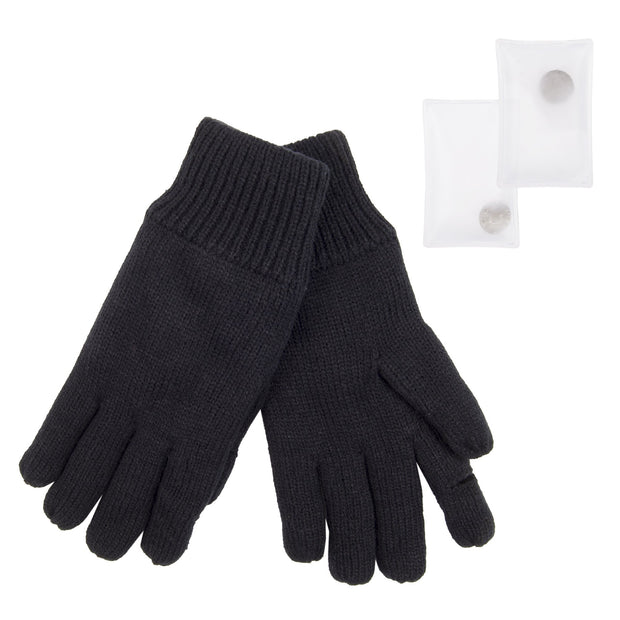 Fleece Lined Texting Gloves with Hand Warmers
