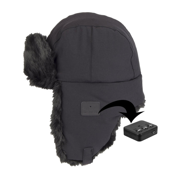 a91392786241e Trapper Hat with Bluetooth Headphones – ExactFitShop