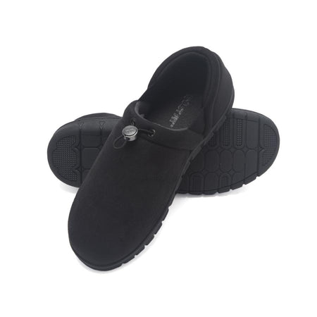 Venetian Closed Back Slipper with Stretch Gore