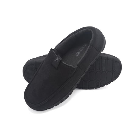 Exact Fit Mens Stretch Indoor Outdoor Memory Foam Venetian House Shoe Slipper