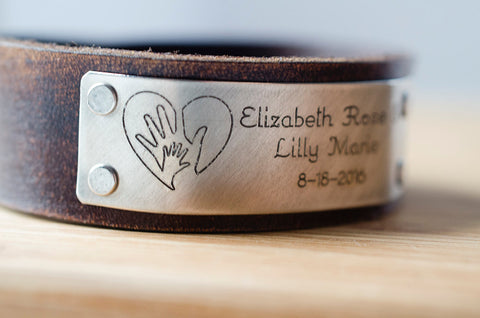 Child's Name Birth Announcement with Custom Date