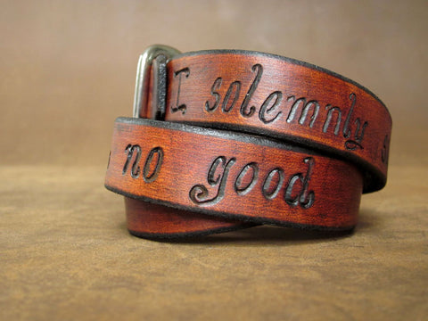 I solemnly swear that I am up to no good- Harry Potter Leather Wrap Bracelet
