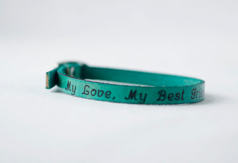 My Love, My Best Friend Single Wrap Bracelet
