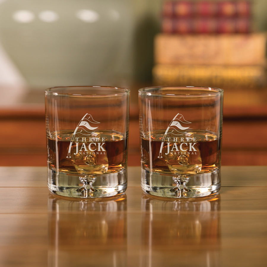 "3-Jack National Deluxe ""On the Rocks"" Barware"