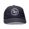 7-4-7 Unstructured Hat - Navy