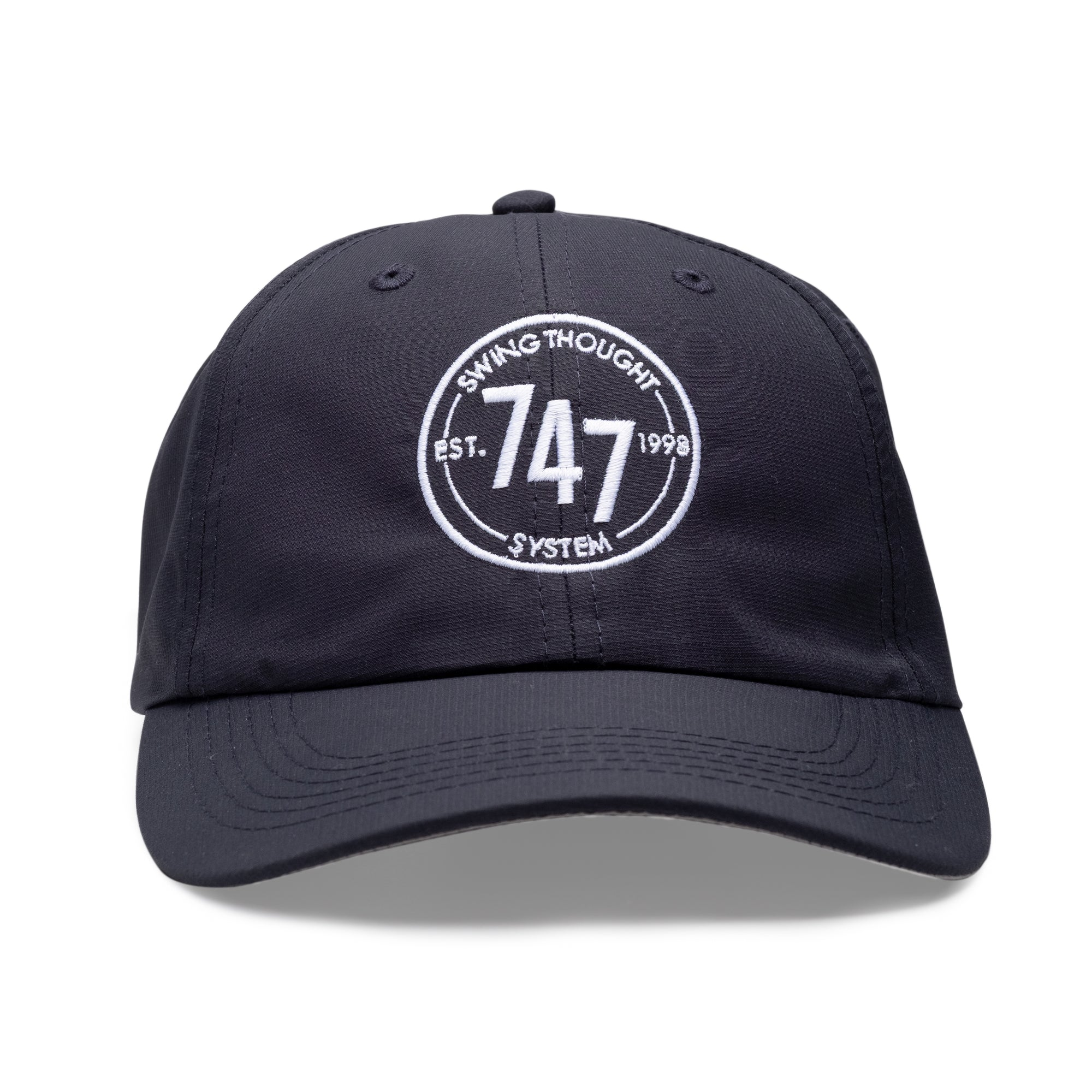 7bbb9d09f71 7-4-7 Unstructured Hat - Navy - Club Pro Guy