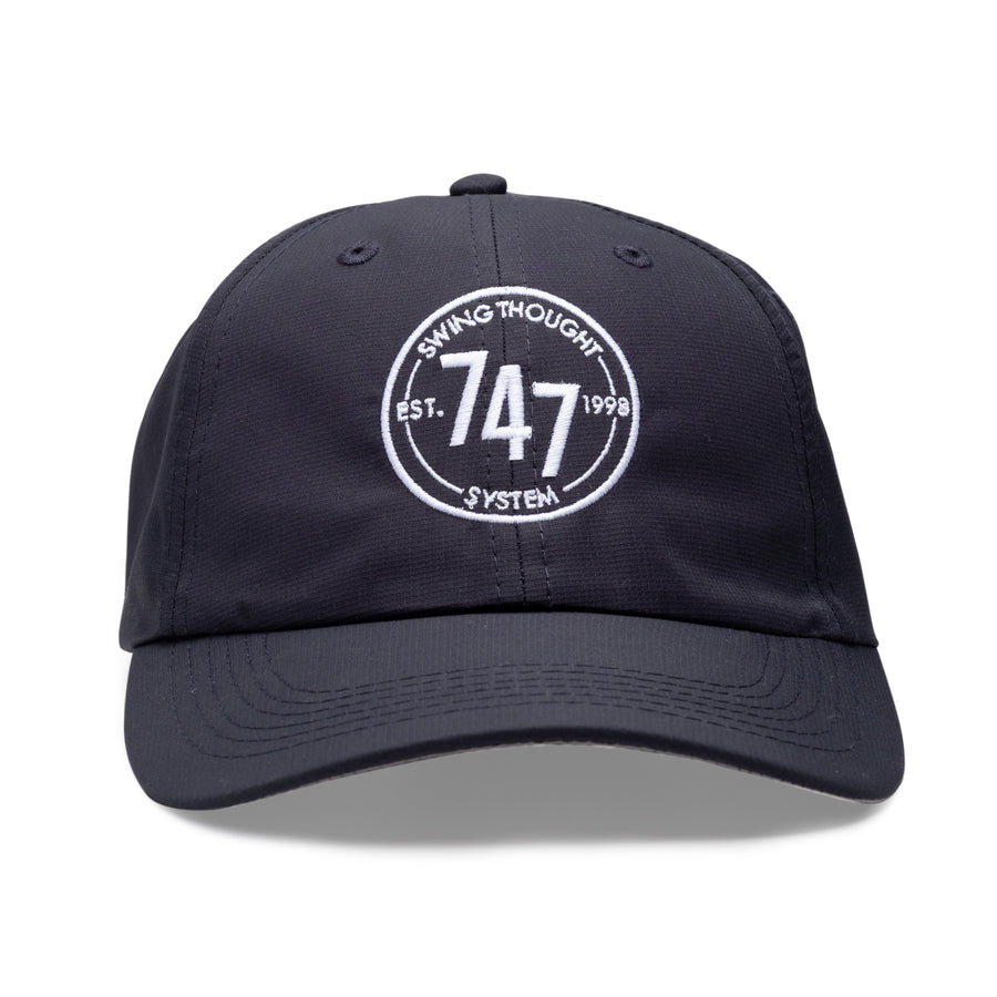 7-4-7 Unstructured Hat - Navy d0e5b8a181ef