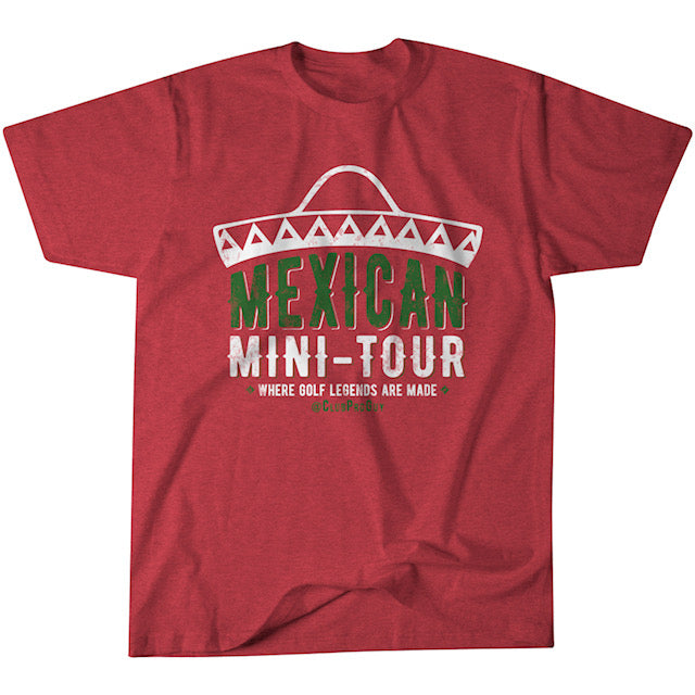 Official Mexican Mini-Tour T-Shirt - Sombrero Edition