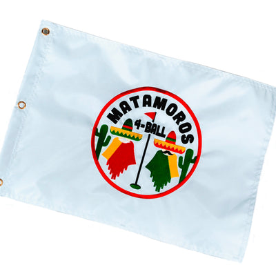 Personalized Matamoros 4-Ball Flag