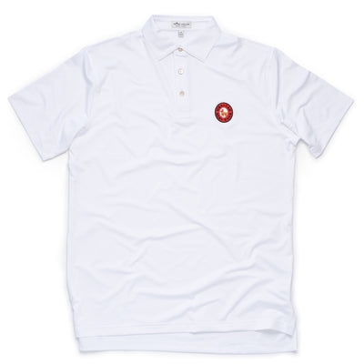 Peter Millar Mexican Mini-Tour Polo - White