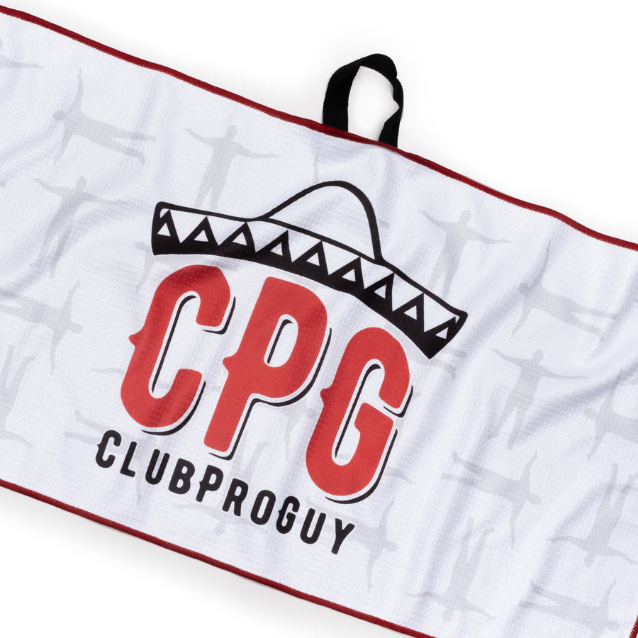 CPG Red Golf Towel
