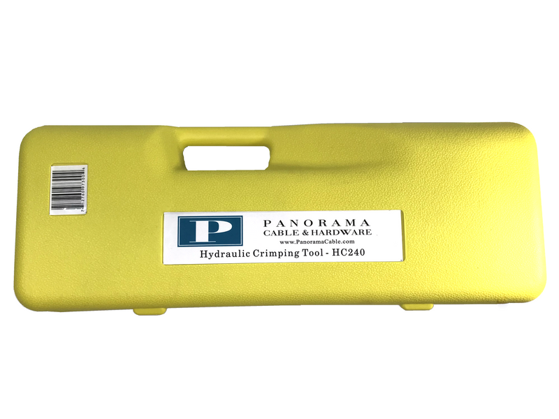 HC240 - Hydraulic Crimping Tool - PanoRAIL®
