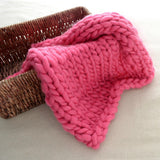 Knitted Blanket Wool 9 Colors