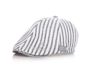Cotton Striped Cap