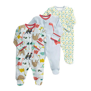 3PCS/ Long Sleeve Printed Pyjamas