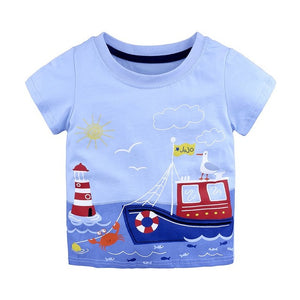 Cartoon Cotton Tee