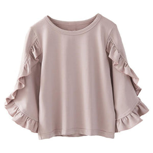 Ruffle Long Sleeve