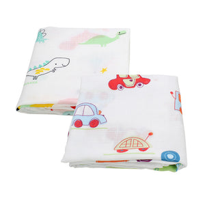 2PCS/ Bamboo Cotton Swaddles