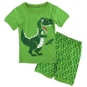Cartoon Short Sleeve Set