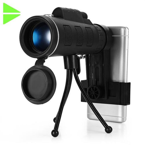 40X60 Monocular HD Prism Scope w Tripod