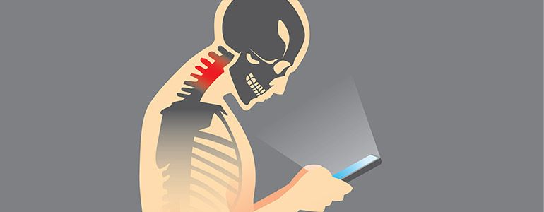 Spine Problems with Texting