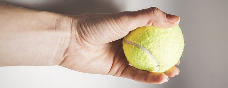 Tennis Ball Exercise for Wrist Pain