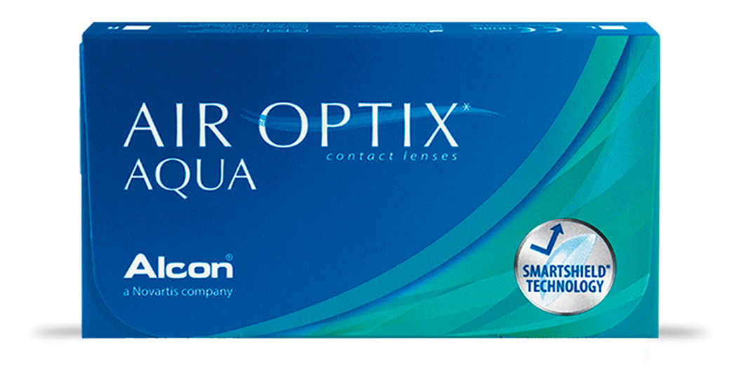 lentes de contacto Air Optix Aqua