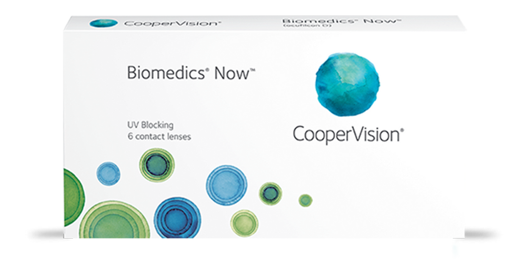 lentes de contacto biomedics now