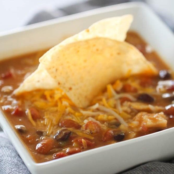 SLOW COOKER 8-CAN TACO SOUP - Chickadee Way