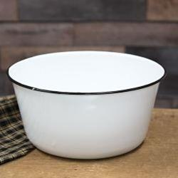 Enamel Mixing Bowl - Chickadee Way