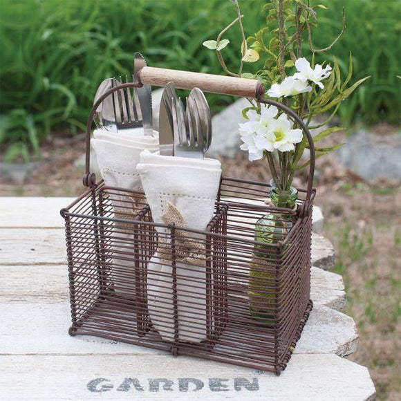 Picnic Utensil Caddy - Chickadee Way