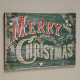 Distressed Merry Christmas Sign
