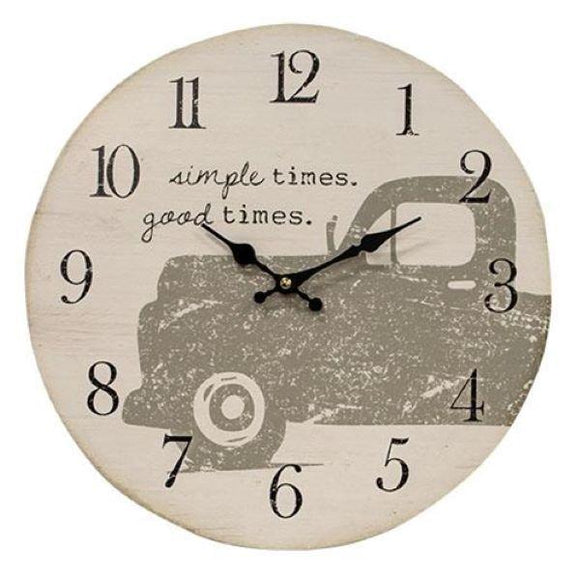 Good Times Clock - Chickadee Way