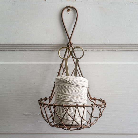 Hanging Twine Feeder Basket with Scissors