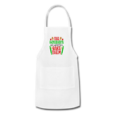 Christmas Apron - white