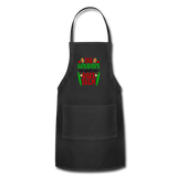 Christmas Apron - black