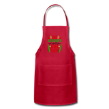 Christmas Apron - red