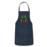 Christmas Apron - navy