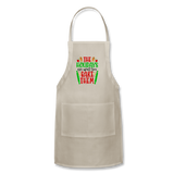Christmas Apron - natural
