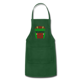 Christmas Apron - forest green