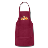 Fall Apron - burgundy