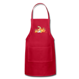 Fall Apron - red